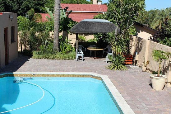 Panorama, South Africa: Pool and Gazebo