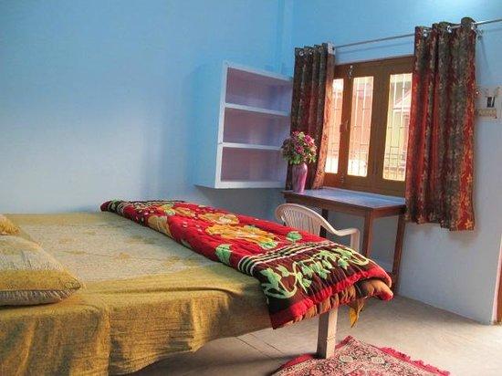 Kedar Guest House: Blue room