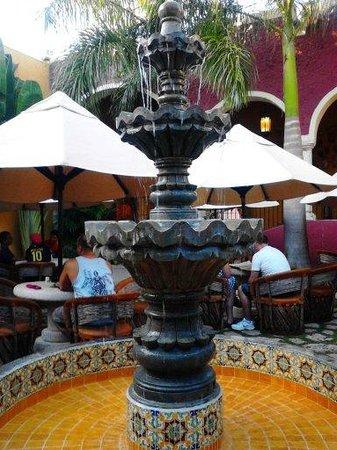 La Casona de Valladolid : Fuente interior