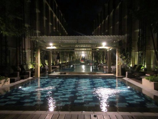 Ananta Legian Hotel: Pool from our room