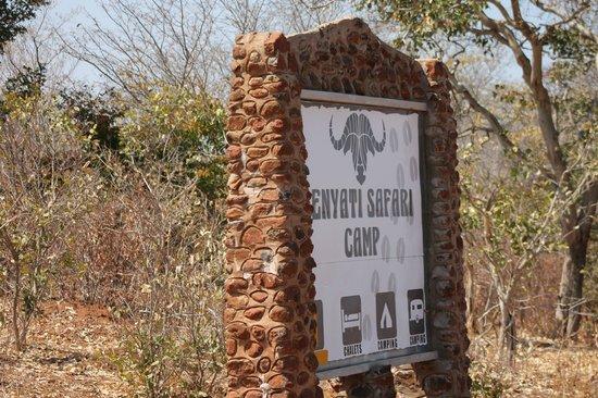 Senyati Safari Camp: ingresso del Camp