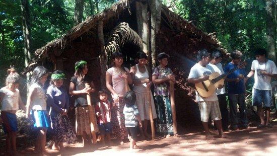 La Aldea de la Selva Lodge: Aldea aborigen