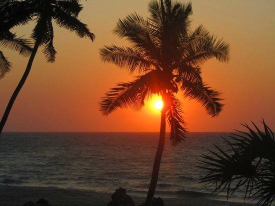 Anjajavy L'Hotel : One of the glourious sunsets