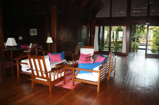Anjajavy L'Hotel: Reception