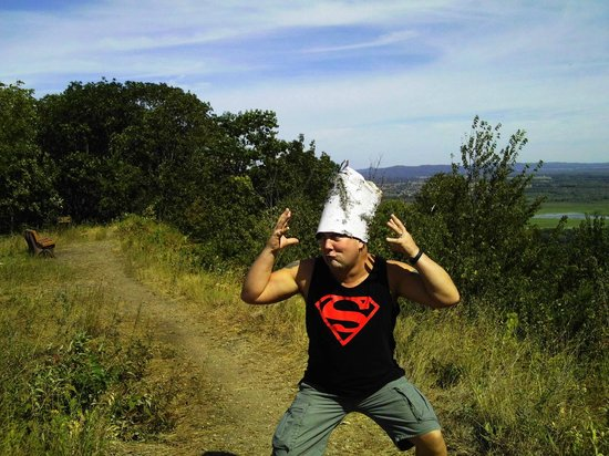 Great River Bluffs State Park: Caught the woodhead fever on the bluffs