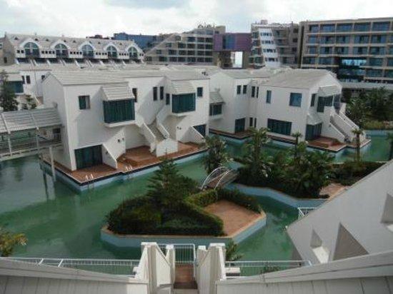 Susesi Luxury Resort : Вид с балкона номера
