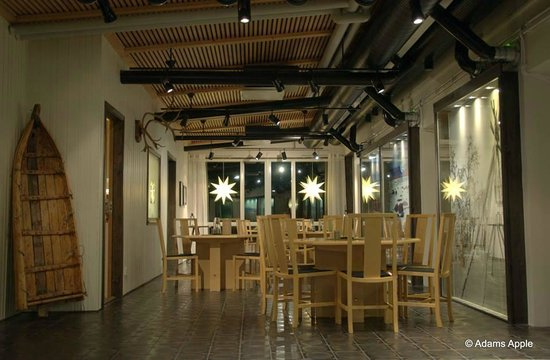 Máttaráhkká - Northern Light Lodge: Dining area