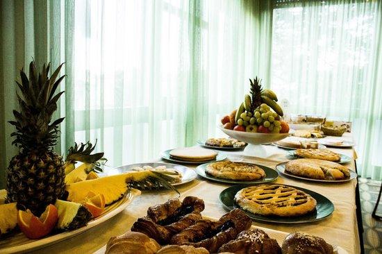 Hotel Tre Stelle : buffet colazione