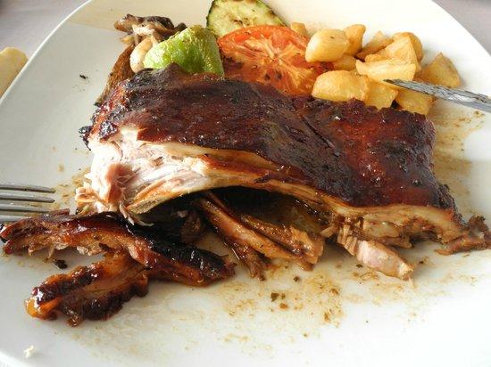 Restaurante HPC Portocolom: Spanferkel