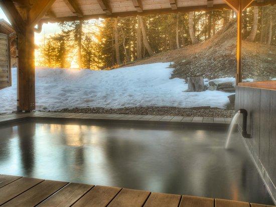 Chalet Matsuzaka Hotel & Spa : Spa d'extérieur