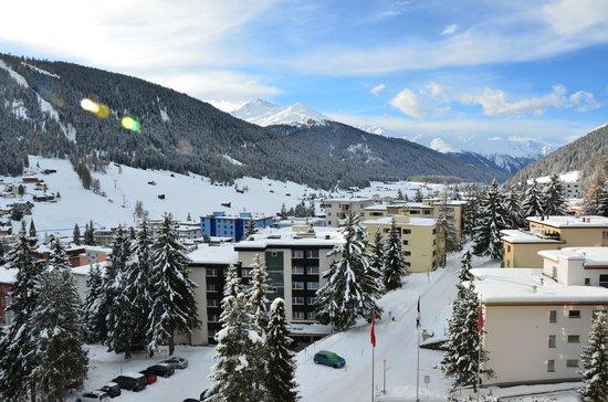 Sunstar Alpine Hotel Davos: Unser Panorama vom Zimmer