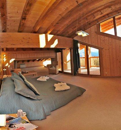 Chalet Matsuzaka Hotel & Spa : Chambre Mansarde