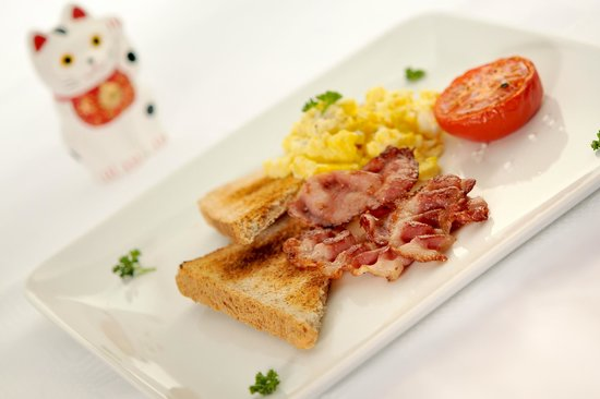 Chalet Matsuzaka Hotel & Spa: Petit déjeuner à l'anglais