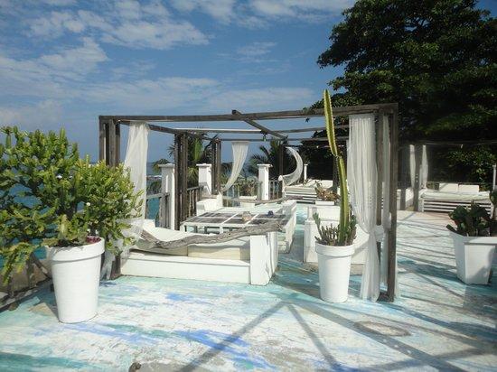 Bliss Hotel Seychelles : Restaurant lounge bar