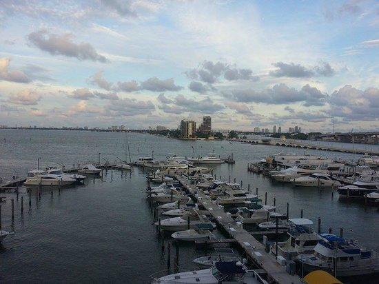Doubletree by Hilton Grand Hotel Biscayne Bay: Vista do quarto