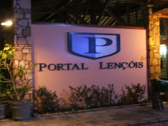 Portal Lencois Hotel: Entrada