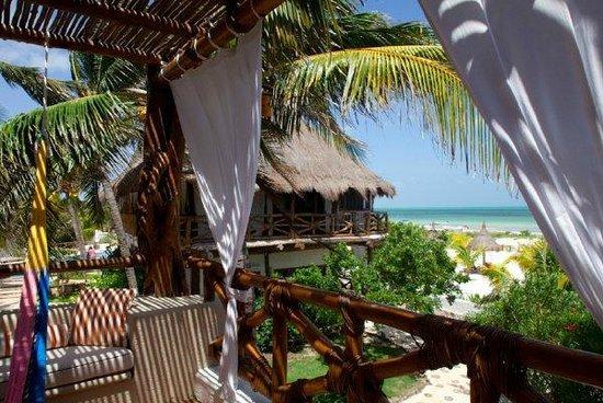 CasaSandra Boutique Hotel : Vista a la playa
