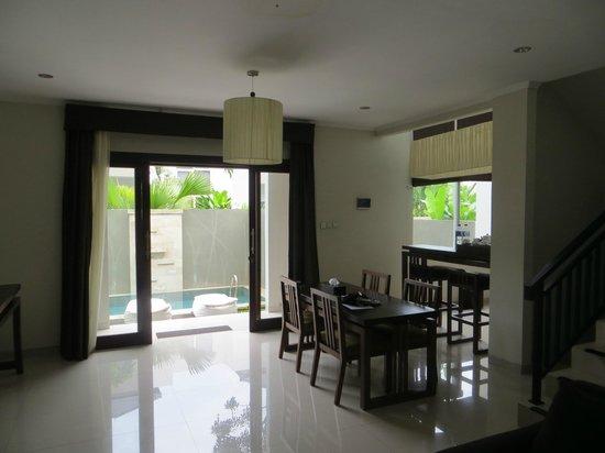 Uppala Villa Seminyak: View from living room