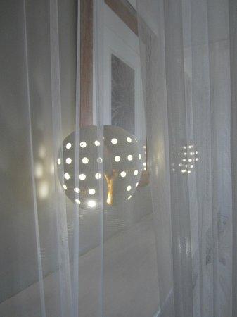 Indian Ocean Lodge: Joli détail les lampes coco de mer