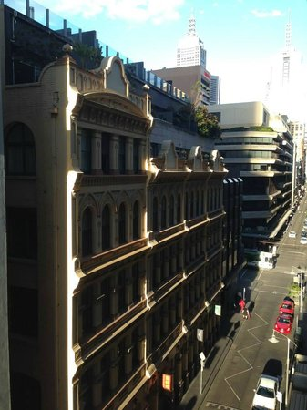The Sebel Melbourne Flinders Lane Apartments: View from our room