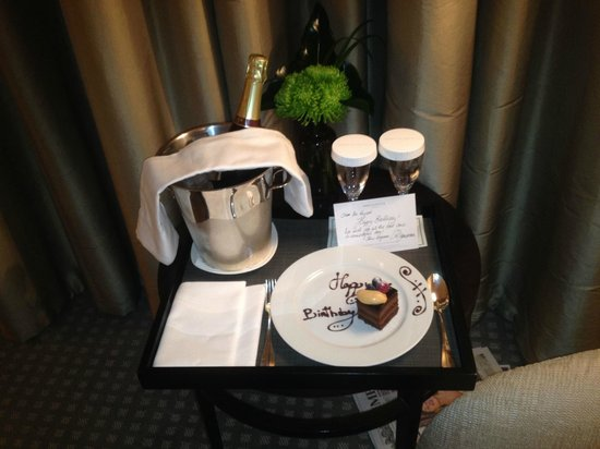 One Aldwych : Birthday gift