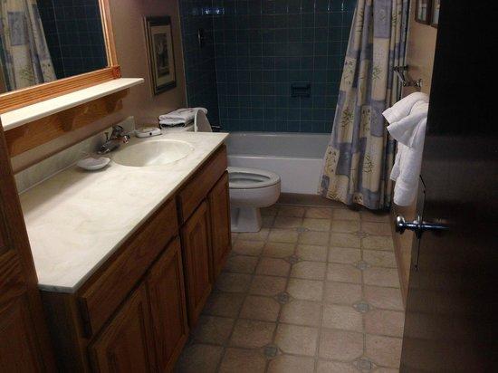 Smugglers' Notch Resort: Bathroom Liftside 56+A