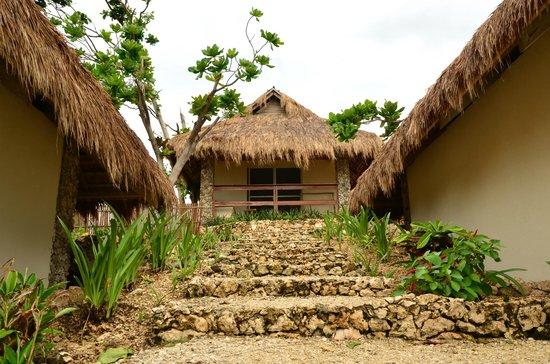 Tepanee Beach Resort : Вид на бунгало