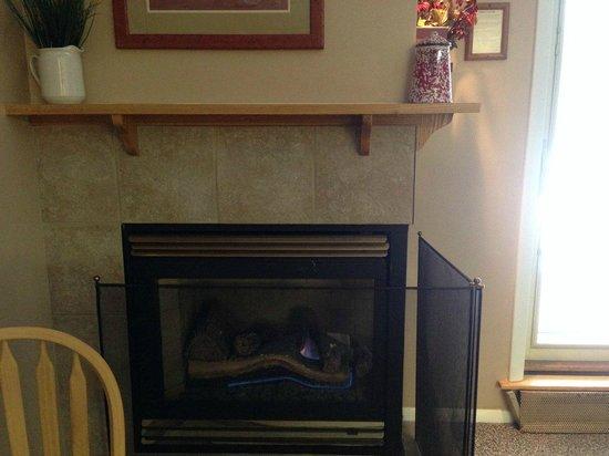Smugglers' Notch Resort : Gas Fireplace Liftside 56+A