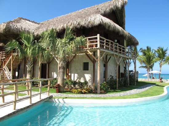 Zoetry Agua Punta Cana: Our building.  Charming!
