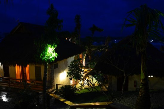Tepanee Beach Resort: Вид из бунгало