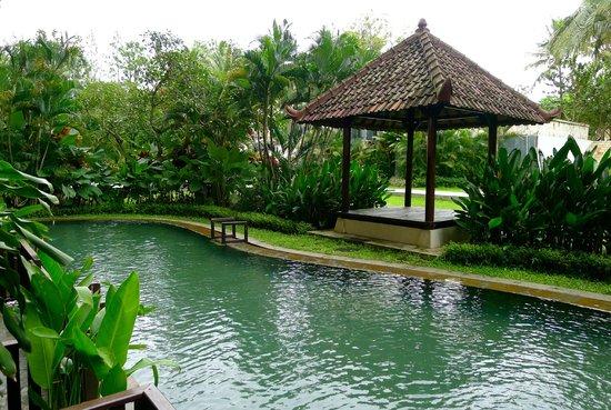 Sheraton Mustika Yogyakarta Resort and Spa: Semi-private lagoon access