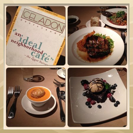 Celadon: All photos of our dinner