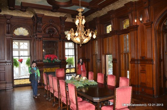 dining room - picture of bishop's palace, galveston - tripadvisor