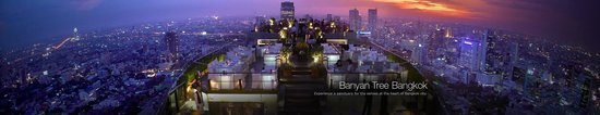 Banyan Tree Bangkok: Vertigo and Moon Bar Views