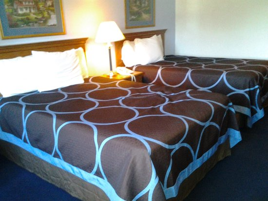 Super 8 Highland NY: New beds