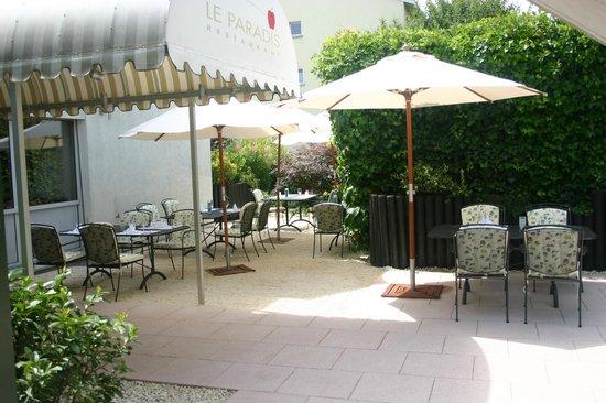 Wunderschöne Terrasse - Bild von Restaurant & Catering Le ...