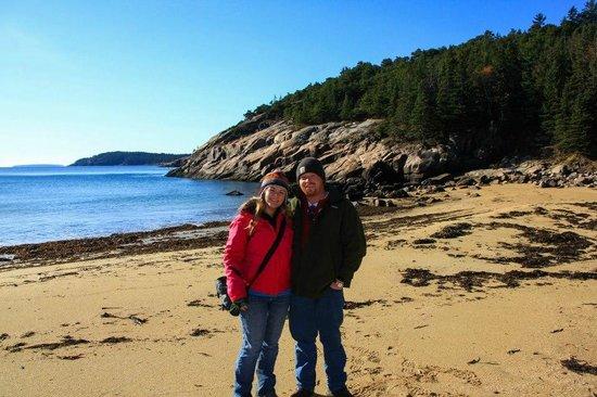 Bar Harbor Inn: Brandon and I in Acadia