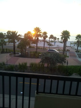 Seaside Inn & Suites Clearwater Beach: Great view from our room 3