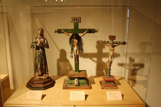 Mission San Luis de Apalachee: Mexican art in the museum part of the Mission