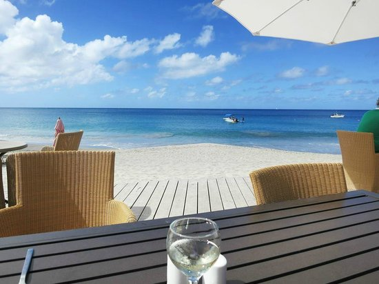 BodyHoliday Saint Lucia : Lunch at the clubhouse