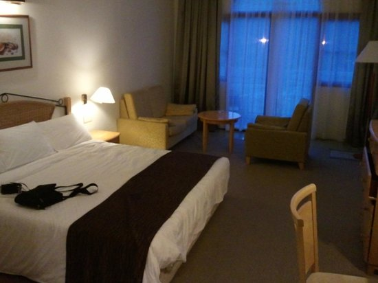Resorts World Langkawi: grande chambre lit king size