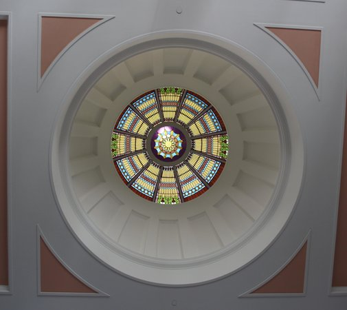 Florida Historic Capitol Museum: so well restored dome