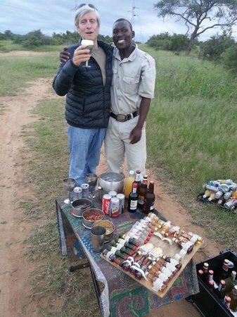 Kapama Southern Camp: Pause apéritive en safari!