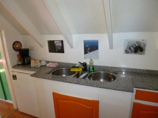 Green House Hostel Bariloche: Lavaderito privado
