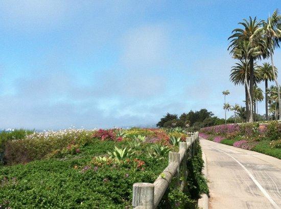 Four Seasons Resort The Biltmore Santa Barbara: Path past Ty Warner's estate