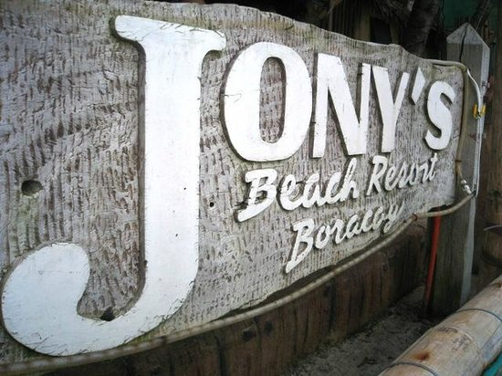 Jony's Beach Resort: Jony's Resto