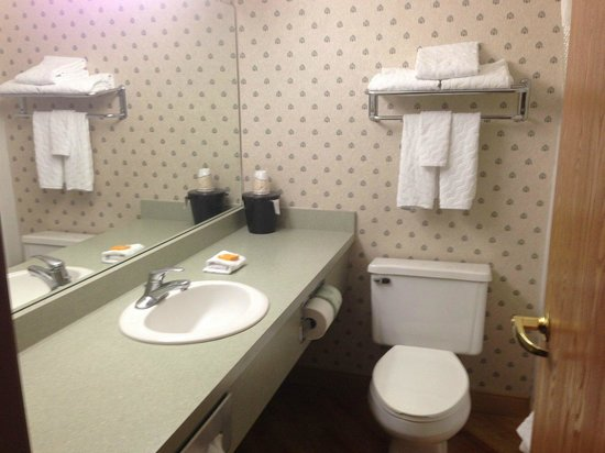 La Quinta Inn & Suites South Burlington: Bathroom