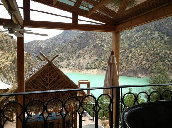 Widiane Suites & Spa : Canyon / lagoon trip - view from private restaurant