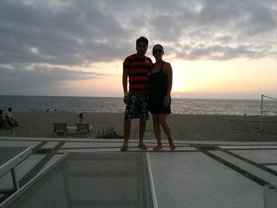 Buenaventura Grand Hotel & Great Moments All Inclusive: sunset in vallarta