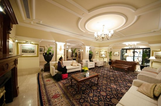 The Imperial Hotel: The main lobby at 2:30 AM
